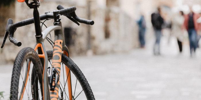 gravel bike a Bagno Vignoni