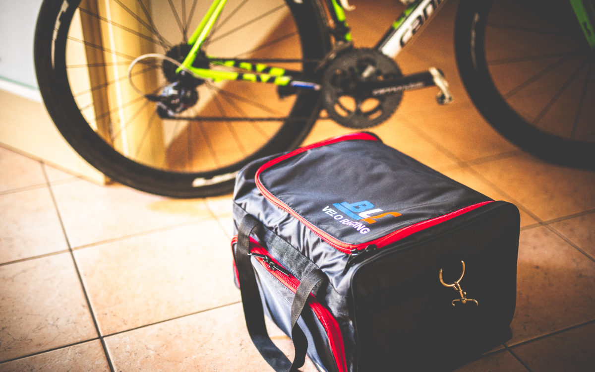 Black Line Sprinting  VeloRacing Bag